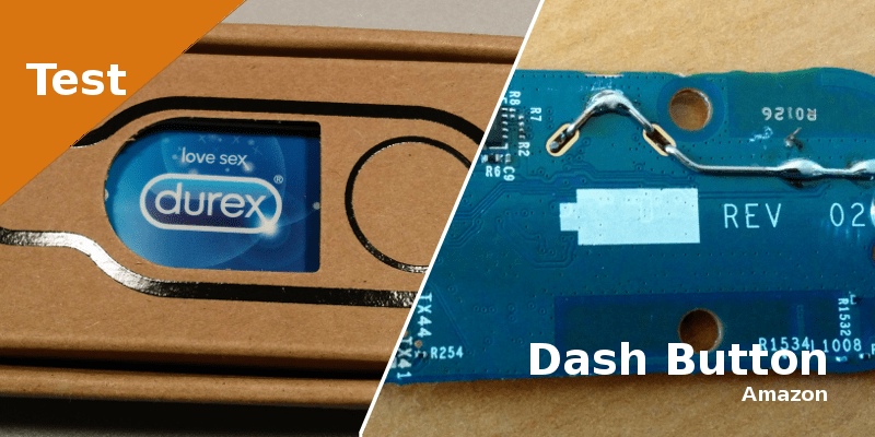 Hack du bouton Dash de chez Amazon